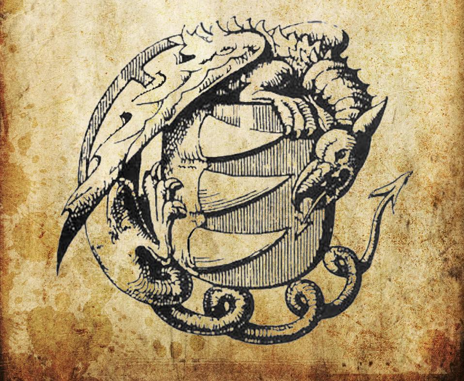 Фамильный герб Дома Vörös, имеющего огромную власть над культом.|width=200px