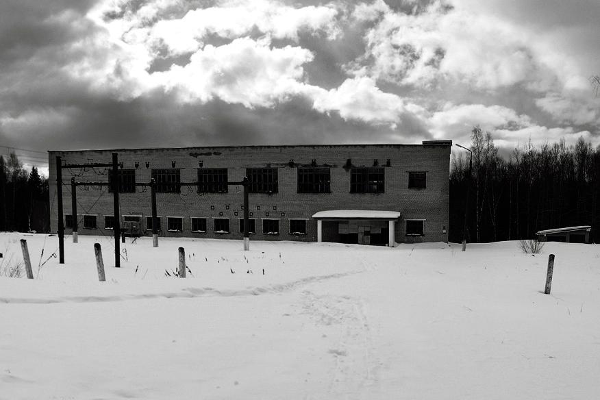 Фотография одного из зданий, _расположенных на территории SCP-1138