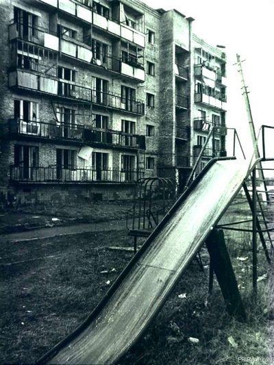 Одна из улиц SCP-1141