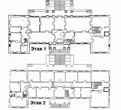 Примечание: помимо показанных помещений, в доме имеются чердак и подвал