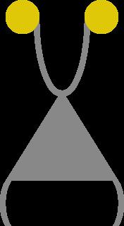Восстановленный по фрагментам символ,который был нарисован на бетонной стене,сломанной при создании SCP-1216-1.Считается, что он изображает особь SCP-1216.