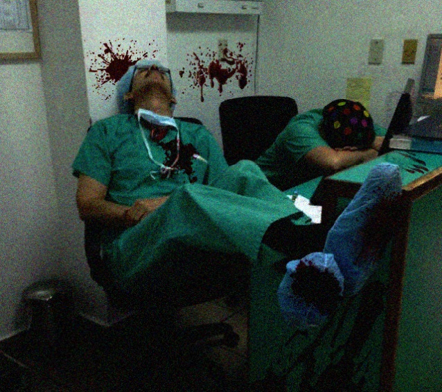 Инцидент 1321-И/1-АПодсобка комнаты отдыха