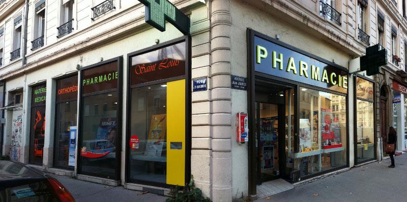 Аптека, где были изъяты SCP-2022. ████, Франция. 23.07.20██ width=270px