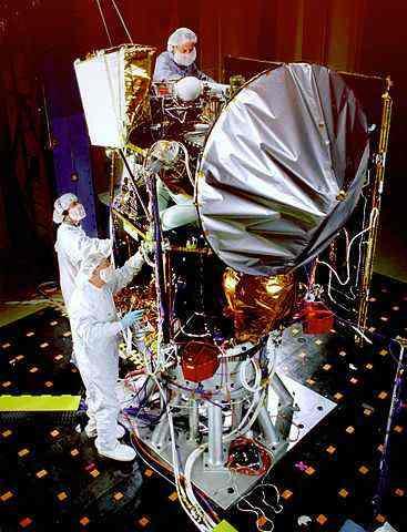 Зонд-2092-A перед запуском