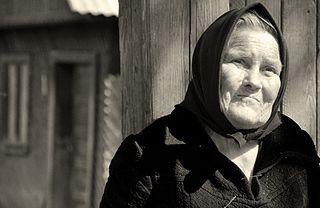 Драга Негреску - старейшина деревни, повивальная бабка и соломонар из леса Хойя-Бачиу.