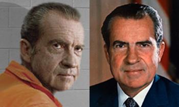 Слева: SCP-2736-1 в камере содержания, 1973. Справа: SCP-2736-2 во время второго президентского срока, 1973.|width=350px