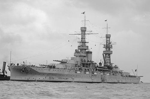 """Корабль ВМФ США """"Атланта"""" перед реквизицией сотрудниками Фонда."""