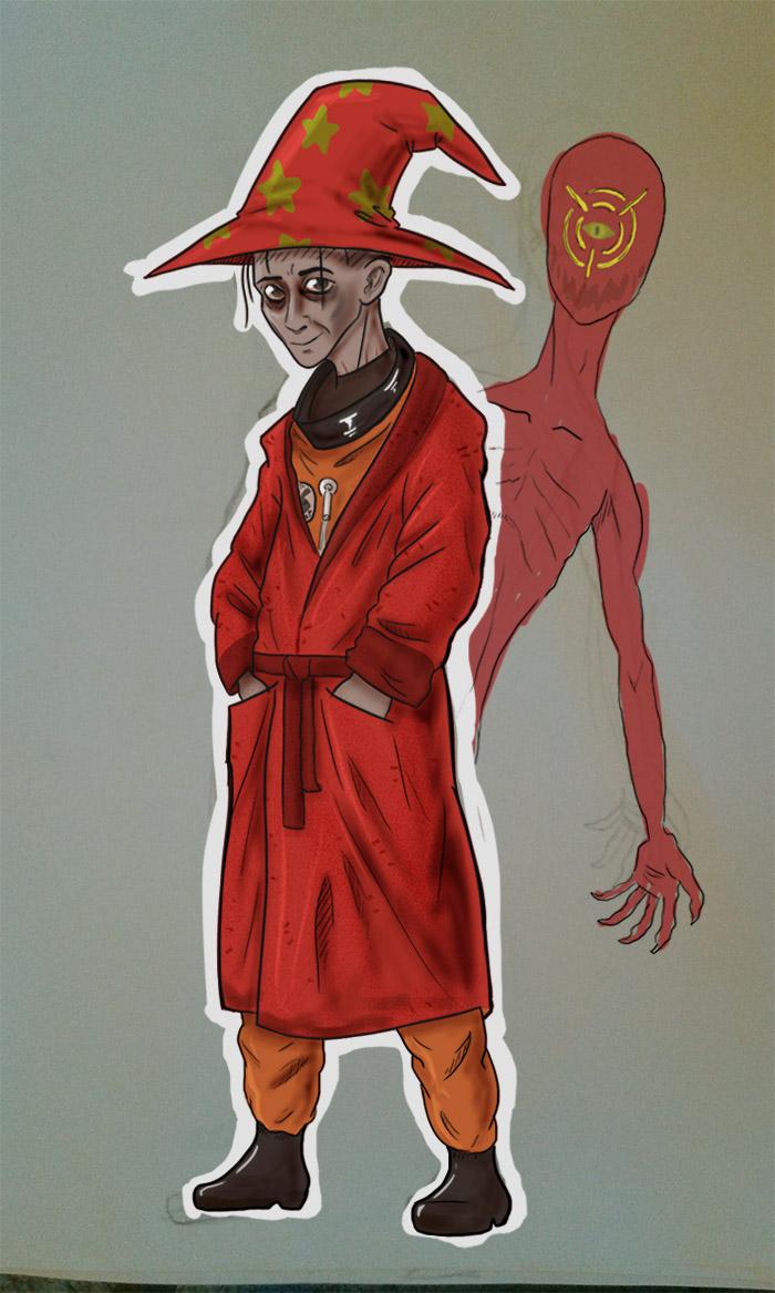 У него есть волшебная шляпа - значит, он волшебник. (автор -  Jenssosaurus)|width=210px